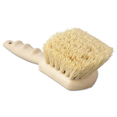 "Boardwalk® Utility Brush, Tampico Fill, 8 1/2"" Long, Tan Handle"