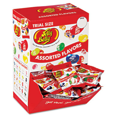 Jelly Belly® Jelly Beans Assorted Flavors, 80/Dispenser Box Food-Candy - Office Ready