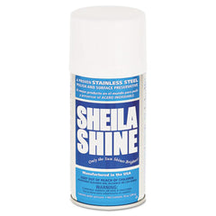 Sheila Shine Stainless Steel Cleaner & Polish, 10oz Aerosol