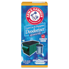 Arm & Hammer™ Trash Can & Dumpster Deodorizer with Baking Soda, Sprinkle Top, Original, Powder, 42.6 oz