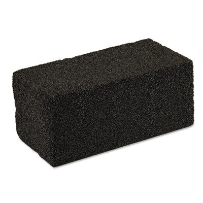 Scotch-Brite™ PROFESSIONAL Grill Brick Grill Brick, 4 x 8 x 3 1/2, Black Scouring Pads/Sticks-Block/Stick - Office Ready