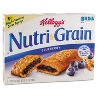 Kellogg's® Nutri-Grain® Cereal Bars Blueberry, Indv Wrapped 1.3oz Bar, 16/Box Food-Cereal Bar - Office Ready