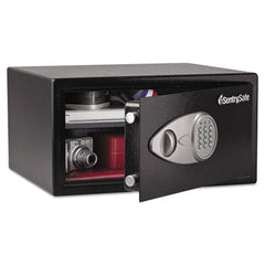 Sentry® Safe Electronic Security Safe, 1 cu ft, 16.94w x 14.56d x 8.88h, Black