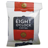 Beverages-Coffee, Fraction Pack - Eight O'Clock Regular Ground Coffee Fraction Packs 1.5oz, 42/Carton - Office Ready