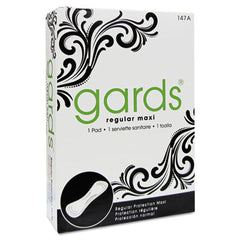 HOSPECO® Gards® Vended Sanitary Napkins #4, 250 Individually Boxed Napkins/Carton