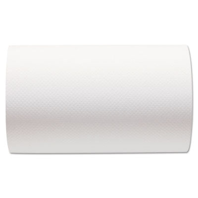 Towels & Wipes-Hardwound Paper Towel Roll - Georgia Pacific® Professional SofPull® Hardwound Roll Paper Towel Nonperforated, 9 x 400ft, White, 6 Rolls/Carton - Office Ready - 1