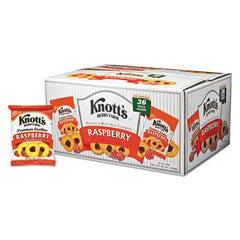 Knott's Berry Farm® Premium Berry Jam Shortbread Cookies 2 oz Pack, 36/Carton
