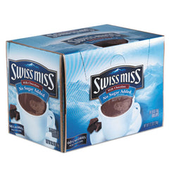 Swiss Miss® Hot Cocoa Mix No Sugar Added, 24 Packets/Box