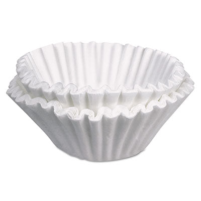 Coffee Filters-Paper Basket - BUNN® Commercial Coffee Filters 10 Gallon Urn Style, 250/Pack - Office Ready