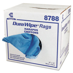 Chix® DuraWipe® General Purpose Towels, 12 x 12, Blue, 250/Carton