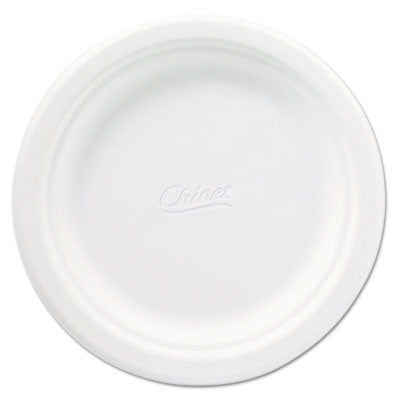 Chinet® Classic Paper Dinnerware 6 3/4 Inches, White, Round, 125/Pack Dinnerware-Plate, Paper - Office Ready