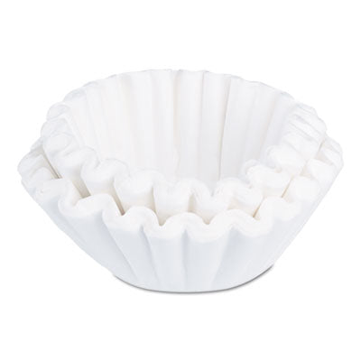 Coffee Filters-Paper Basket - BUNN® Commercial Coffee Filters 1.5 Gallon Brewer, 500/Pack - Office Ready
