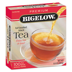Bigelow® Single Flavor Tea Bags Premium Ceylon, 100 Bags/Box