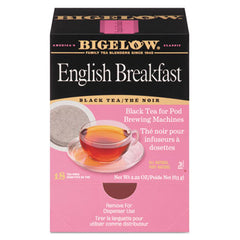 Bigelow® Tea Pods 1.90 oz, 18/Box