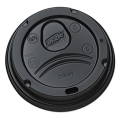 Dixie® Drink-Thru Lid Plastic, Black
