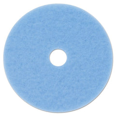 "3M™ Hi-Performance Burnish Pad 3050, 20"" Diameter, Sky Blue, 5/Carton"