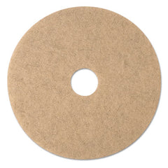 "3M™ Ultra High-Speed Burnishing Floor Pads 3500, 20"" Dia., Tan, 5/CT"