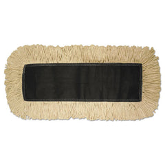 Boardwalk® Disposable Dust Mop Head, Cotton, 18w x 5d