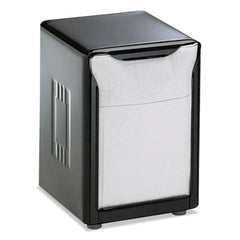 San Jamar® Tabletop Napkin Dispenser, Low Fold, 3 3/4 x 4 x 5 1/2, Capacity: 150, Black