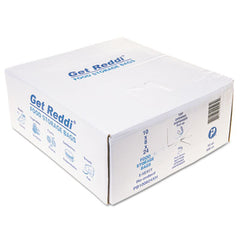 "Inteplast Group Food Bags, 22 qt, 1.2 mil, 10"" x 24"", Clear, 500/Carton"