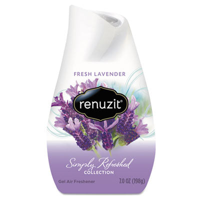 Air Fresheners/Odor Eliminators-Stick/Disk - Renuzit® Adjustables Air Freshener Fresh Lavender, Solid, 7 oz, 12/Carton - Office Ready