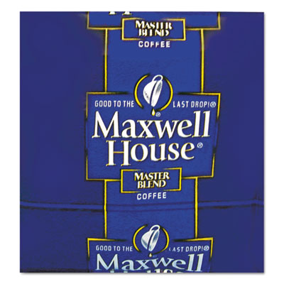 Maxwell House® Coffee, Regular Ground, 1 1/10oz Pack, 42/Carton