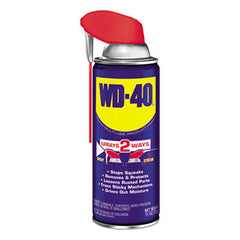 WD-40® Smart Straw® Spray Lubricant, 11 oz. Aerosol Can, 12/Carton