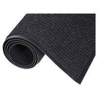 Crown Needle-Rib™ Wiper/Scraper Mat Polypropylene, 36 x 60, Charcoal Mats-Wiper Mat - Office Ready