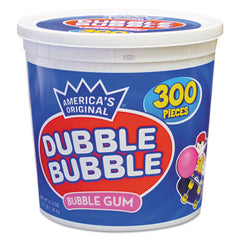 Dubble Bubble Bubble Gum Original Pink, 300/Tub