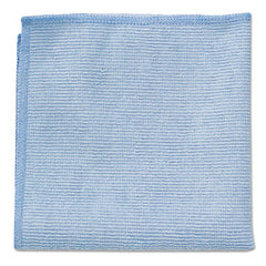 Rubbermaid® Commercial Microfiber Cleaning Cloths 16 X 16, Blue, 24/Pack