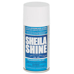 Sheila Shine Stainless Steel Cleaner & Polish, 10 oz Can, 12/Carton