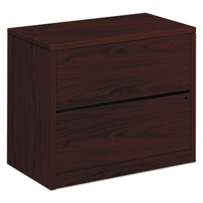 File Cabinets-Lateral - HON® 10500 Series™ Lateral File 36w x 20d x 29-1/2h, Mahogany - Office Ready