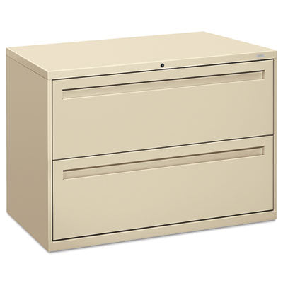 HON® Brigade® 700 Series Lateral File 42w x 19-1/4d, Putty File Cabinets-Lateral - Office Ready