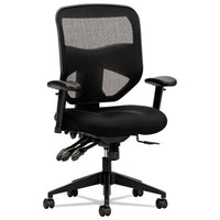 HON® VL532 Mesh High-Back Task Chair, Supports up to 250 lbs., Black Seat/Black Back, Black Base Chairs/Stools-Office Chairs - Office Ready