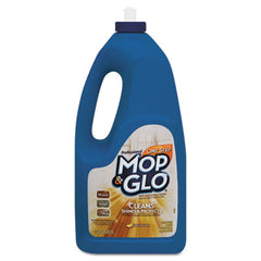 MOP & GLO® Triple Action Floor Shine Cleaner Fresh Citrus Scent, 64oz Bottles, 6/Carton