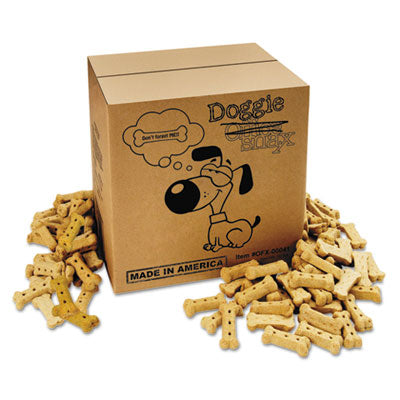 Food-Dog Biscuits - Office Snax® Doggie Biscuits 10lb Box - Office Ready - 1