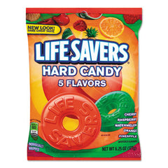 LifeSavers® Hard Candy Individually Wrapped, 6.25oz Bag