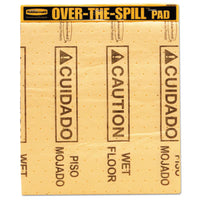 "Rubbermaid® Commercial ""Over-The-Spill™"" Pad Tablets Sorbents-Pad - Office Ready"