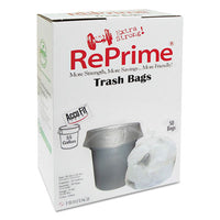 Bags-Waste Can Liner - RePrime Can Liners 55gal, 0.9mil, Clear, 40