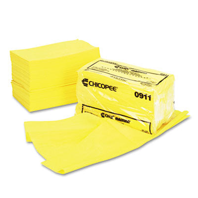 Chix® Masslinn® Dust Cloths 24 x 24, Yellow, 50/Bag, 2 Bags/Carton Towels & Wipes-Disposable Dry Wipe - Office Ready