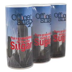 Office Snax® Sugar Canister, 20 oz, 3/Pack