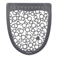 Boardwalk® Urinal Mat 2.0, Rubber, 17 1/2 x 20, Gray/White, 6/Carton