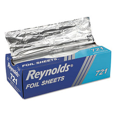 Reynolds Wrap® Interfolded Aluminum Foil Sheets, 12 x 10 3/4, Silver, 500/Box