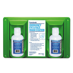 Boardwalk® Emergency Eyewash Station 16 oz Bottle, 2 Bottles/Station