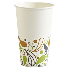 Boardwalk® Deerfield Printed Paper Hot Cups 16 oz, 50 Cups/Pack, 20 Packs/Carton