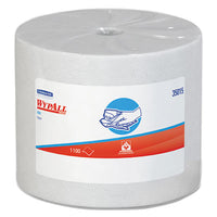 WypAll® X50 Cloths, Jumbo Roll, 9 4/5 x 13 2/5, White, 1100/Roll Towels & Wipes-Disposable Dry Wipe - Office Ready