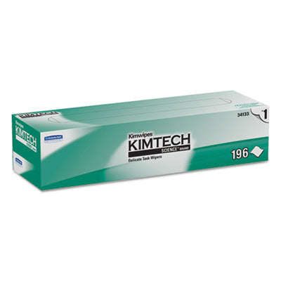 Kimtech* KIMWIPES* Delicate Task Wiper 11 4/5 x 11 4/5, 196/Box, 15 Boxes/Carton Towels & Wipes-Delicate Task Wipe - Office Ready