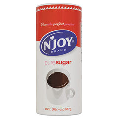 N'Joy Pure Sugar Cane Canisters, 20 oz Canister, 3/Pack