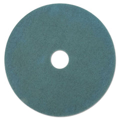 "3M™ Aqua Burnish Floor Pads 3100, 27"" Diameter, Aqua, 5/Carton"