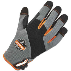 ergodyne® ProFlex® 710 Heavy-Duty Utility Gloves, Gray, X-Large, 1 Pair